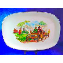 El Arcon Gran Bandeja De Porcelana Mario Lopez 40 Cm 19114