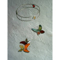 Delicado Movil Vitraux Tiffany 3 Piezas Modelo A Elección.