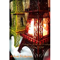 Lampara De Sal Torre Eiffel ,directo De Fabrica!! Exclusivas