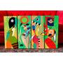 Set De Cuadros Abstractos Obras Kandinsky. Expresionismo.