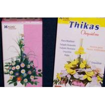 12 Pares Moldes Para Hacer Flores C/ Goma Eva - Mini Orquide
