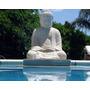 Buda Realizado En Piedra Paris De 55 Cm De Altura
