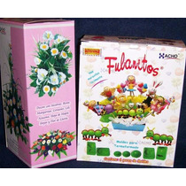 15 Pares Moldes Para Flores C/ Goma Eva - Mini Fulanitos