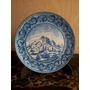 Plato Ceramica Italiana Firmado G Piccone Mayolica Pint Mano