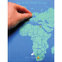 Mapa Mundi Planificador De Viajes