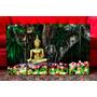 Cuadros Modernos Buda Zen Tulipanes. Meditación. Decoración