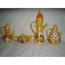 Tetera-cafetera-pava De Ceramica Artesanales Decada 70