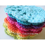 Posavasos Tejidos X 6 Unidades - Al Crochet