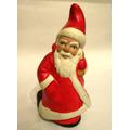 Papa Noel En Ceramica Pintado A Mano Art 369