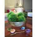 Esfera-bola De Pasto-artificial-pasto-topiario-(12cm)