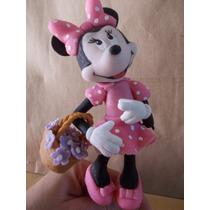 Minnie Mouse En Porcelana Fria Para Tu Torta