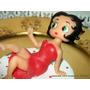 Adorno Para Torta Betty Boop Porcelana Fría Narartesana