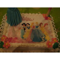 Laminas Comestibles Para Tortas,princesas, Pooh, Barbie Ymas