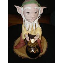 Duende De La Fortuna Porcelana Fria Decoracion Torta