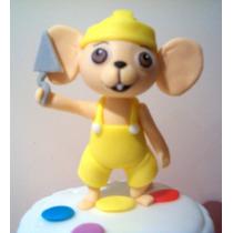 Ratoncito Constructor !!! - Baby Tv - Adorno Para Tu Torta