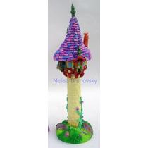 Torre De Rapunzel 30 Cm, Enredados, Disney Para Torta