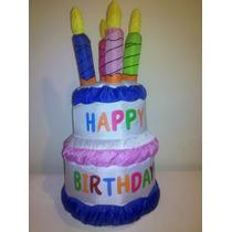 Torta De Cumpleaños Decorativa Salon Fiestas Infantiles