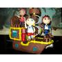Barco De Jake Y Los Piratas Con Izzy Y Cubby. Porcelana Fria