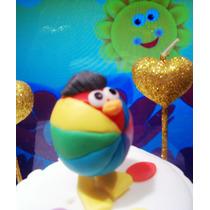 Egg Bird !!! - El Huevito De Baby Tv - Adorno Para Tu Torta