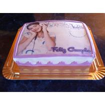 Lamina Personalizada Comestible Violetta Rapunzel Frozen