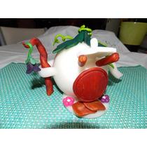 Tinkerbell - Casita De Campanita En Porcelana Fina
