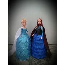Hermosas Muñecas Con Vestidos De Goma Eva