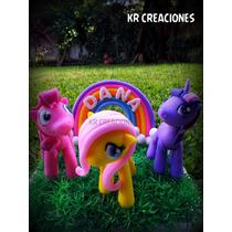 Adorno D Torta En Porcelana My Little Pony (mi Pequeño Pony)