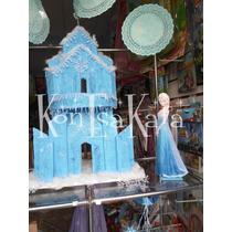 Frozen Castillo Para Tu Mesa Dulce...!!!