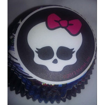 Pirotines Cupcake Importado Wilton Monster High Candy Bar