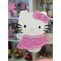 Adorno Pinche Torta - Hello Kitty - Goma Eva 17 Cm X 13 Cm