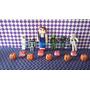 Adorno Para Torta De Minecraft Hallowen Porcelana Fria