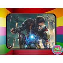 Cartuchera 2 Pisos Personalizada Iron Man Vengadores Marvel