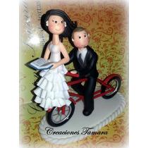 Adornos Para Tortas De Boda, Casamiento En Porcelana Fría