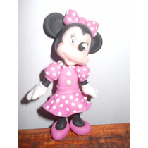 Minnie Mouse En Porcelana Fría