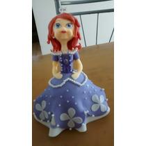 Muñeca Princesa Sofia De Porcelana Fria
