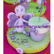 Souvenirs Con Flor Y Maceta En Porcelana Sapo Pepe Y Otros
