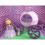 Princesa Sofia Con Carruaje Y Clover En Porcelana Fria