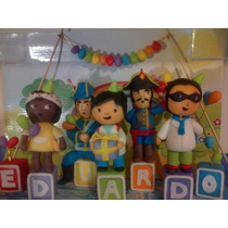 Zamba Y Sus Amigos De Fiesta !!! + 5 Cubos Con Tu Nombre!!