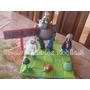 Adorno Para Torta De Plants Vs Zombies Con Base En Porcelana