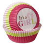 Wilton Pirotines Para Baby Shower Nena -it´s A Girl X 75 Uni