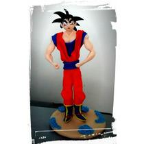 Goku Dragon Ball Muñeco Torta Porcelana Fria