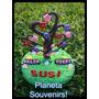 Adorno De Torta Árbol De La Vida! Porcelana Fría - Souvenirs
