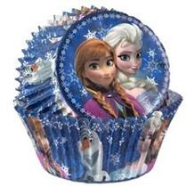 Pirotines Cupcake Disney Frozen Wilton Importados Candy Bar