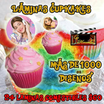 Laminas Comestibles Cup Cakes