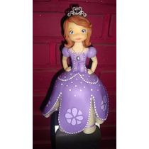 Princesa Sofia Adorno De Torta Porcelana Fria Cumpleaños
