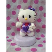 Hello Kitty Porcelana Fria Adorno P/torta