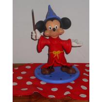 Mickey Mouse Mago En Porcelana Fría