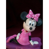 Minnie En Porcelana Fría,ideal Para Decorar Tu Torta!!!