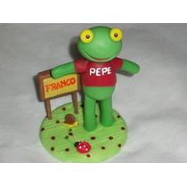 Adornos De Torta Sapo Pepe, 20 Cm