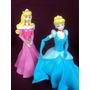 Princesas Disney Aurora,cenicienta Y Otras En Porcelana Fría